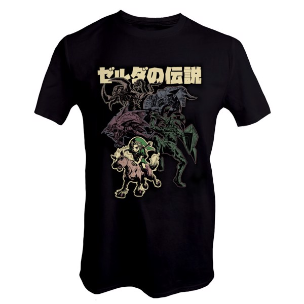The Legend of Zelda - Bosses T-Shirt - XL - Packshot 1