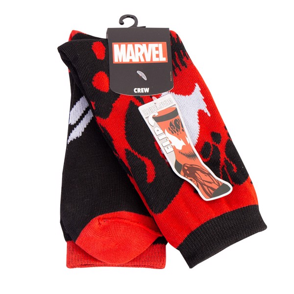 Marvel - Venom & Carnage Reversible Crew Socks - Packshot 1