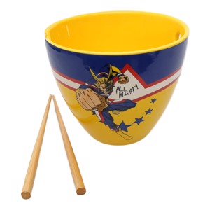 My Hero Academia - All Might Ramen Bowl With Chopsticks