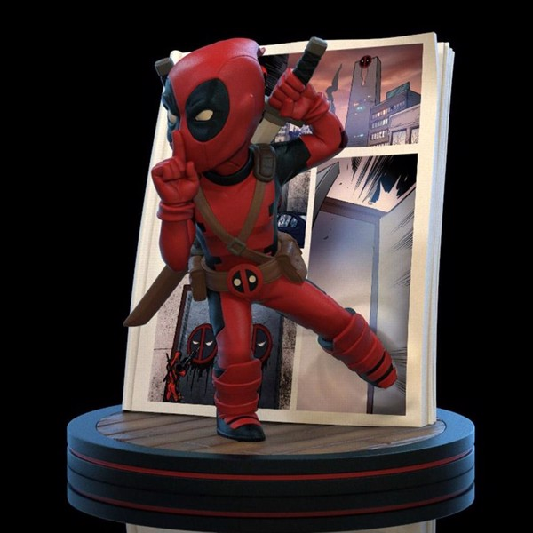 Marvel - Deadpool - Deadpool 4D Q-Fig Diorama - Packshot 1