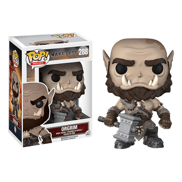 Blizzard - Warcraft - Orgrim Pop! Vinyl Figure - Packshot 1