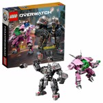 LEGO - Overwatch - D-Va and Reinhardt - Packshot 1