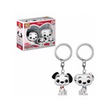 Disney - 101 Dalmatians - Pongo & Perdita Pocket Pop! Keychain 2-pack - Packshot 1