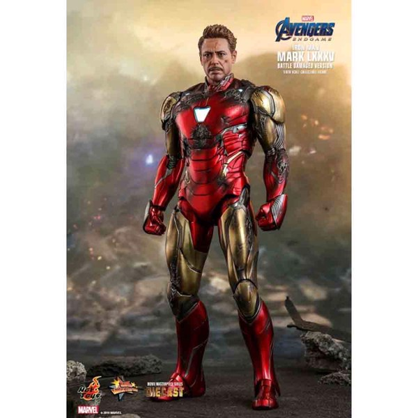"Marvel - Avengers 4: Endgame - Iron Man Mark LXXXV Diecast 1:6 Scale 12"" Action Figure - Packshot 2"