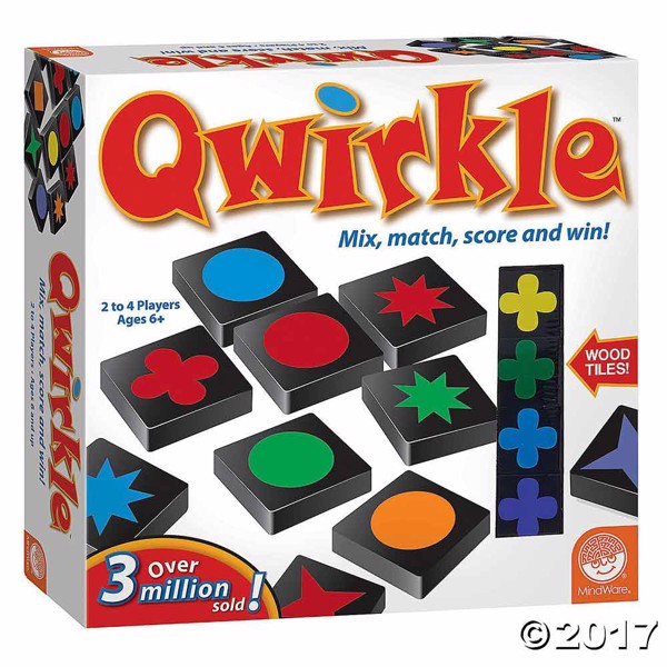 Qwirkle Board Game - Packshot 1