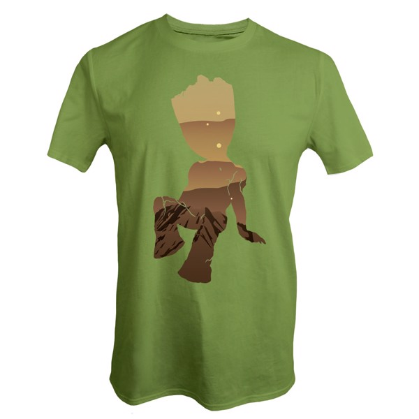 Marvel - Groot Scenery T-Shirt - L - Packshot 1