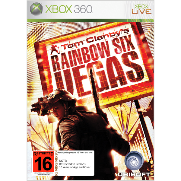Rainbow Six: Vegas - Packshot 1
