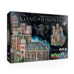 Game Of Thrones - Red Keep 3D Puzzle - Packshot 1