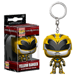 Mighty Morphin' Power Rangers - Power Rangers Movie - Yellow Ranger Pop! Vinyl Keychain - Packshot 1