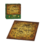 The Legend of Zelda - Hyrule Map Jigsaw Puzzle - Packshot 2