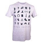 Harry Potter - Grey Symbols T-Shirt - XL - Packshot 1