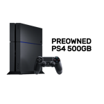 PlayStation 4 500GB International Console (Refurbished by EB Games) - Packshot 1