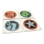 Marvel - The Avengers - Glass Coasters 4 Pack - Packshot 1