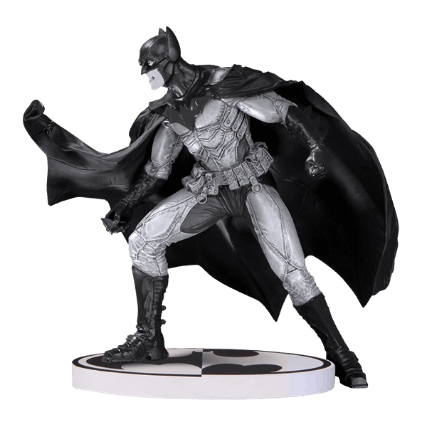 "DC Comics - Batman Black and White by Lee Bermejo 2nd Edition 6.5"" DC Collectibles Statue - Packshot 1"