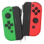 Powerwave Switch Joypad Pair Green & Red - Packshot 1