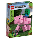 Minecraft - LEGO BigFig Pig with Baby Zombie - Packshot 5