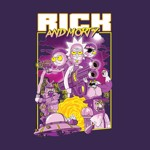 Rick and Morty - Movie Poster T-Shirt - Packshot 2