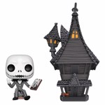 Disney - The Nightmare Before Christmas Jack with Jack's House Pop! Town - Packshot 1