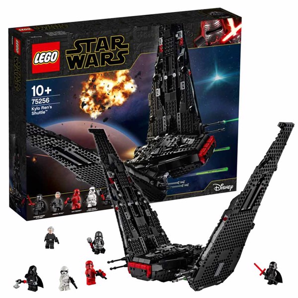 Star Wars - LEGO Kylo Ren's Shuttle - Packshot 1