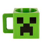 Minecraft - Plastic Creeper Face Mug - Packshot 1