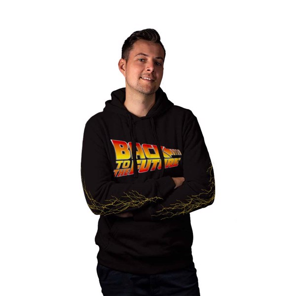 Back to the Future - Light Strikes Hoodie - Packshot 2