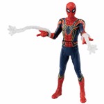 Marvel - Avengers: Endgame - Iron Spider with Web Accessories Metacolle Figure - Packshot 1