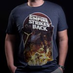 Star Wars - Empire Strikes Back 40th Anniversary Empire Navy T-Shirt - Packshot 3