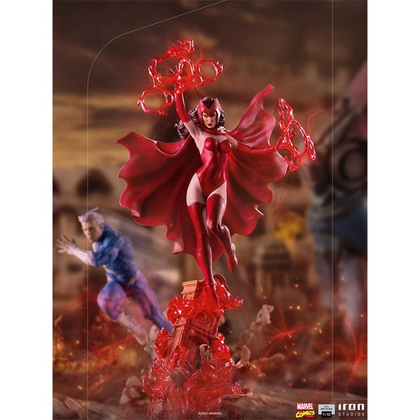 X-Men - Scarlet Witch 1:10 Scale Statue - Packshot 2