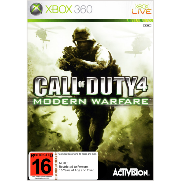 Call of Duty 4: Modern Warfare - Packshot 1