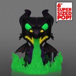 "Disney - Sleeping Beauty - Maleficent as Dragon with Glow Flames 6"" Pop! Vinyl Figure - Packshot 2"