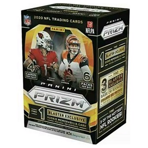 Panini Prizm - National Football League 2020 Blaster Pack - Toys and Collectibles