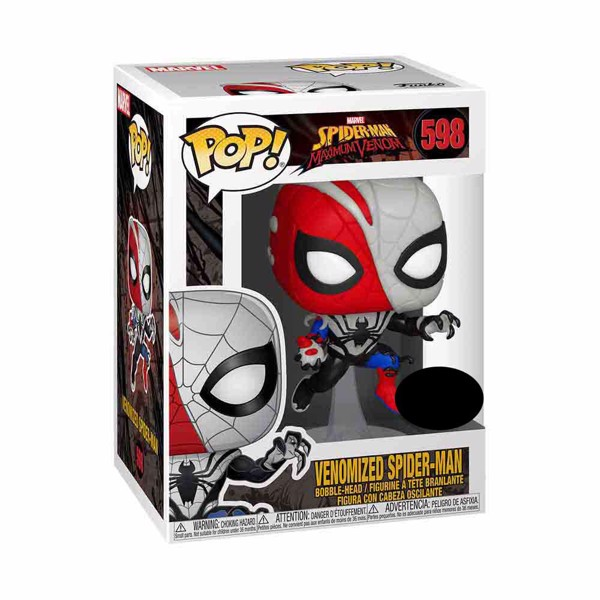 Marvel - Venomized Spider-Man Pop! Vinyl Figure - Packshot 2
