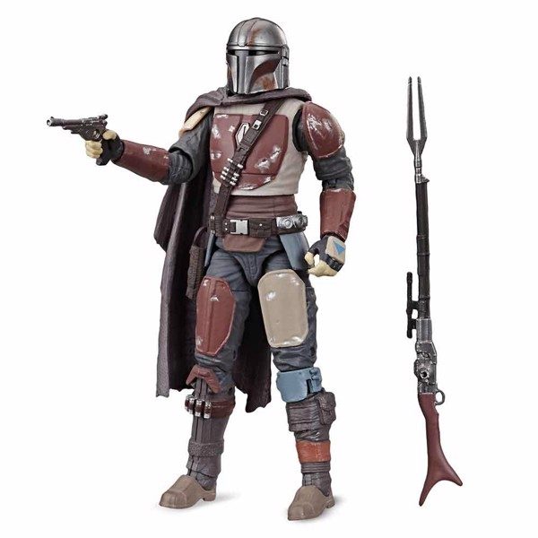"Star Wars - The Mandalorian - Mandalorian 6"" Black Series Action Figure - Packshot 1"