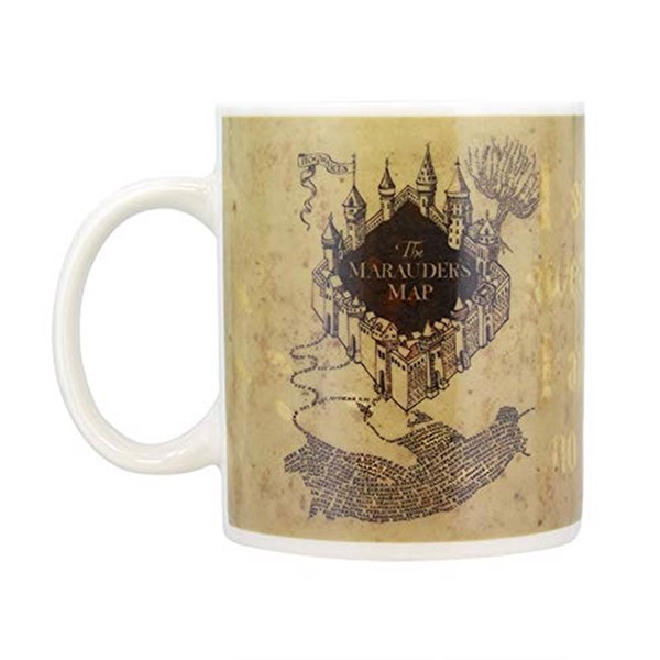 Harry Potter - Marauder's Map Heat-Changing Mug - Packshot 2