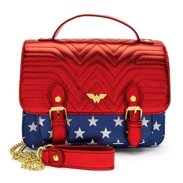 Officially Licensed Merchandise Wonder Woman Messenger Bag