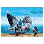 How to Train Your Dragon - Drago and Thunderclaw PlayMobil Construction Set - Packshot 2