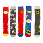 DC Comics - Justice League - Crew Socks 5 Pack - Packshot 1