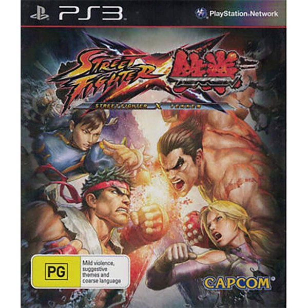 Street Fighter X Tekken - Packshot 1