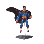 "DC Comics - Superman Man of Steel 9"" Sean Galloway Statue - Packshot 1"