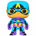Marvel - Avengers - Captain America Black Light Pop! Vinyl Figure - Packshot 1