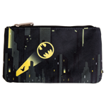 DC Comics - Batman Bat Signal All-Over Print Loungefly Pencil Case - Packshot 1