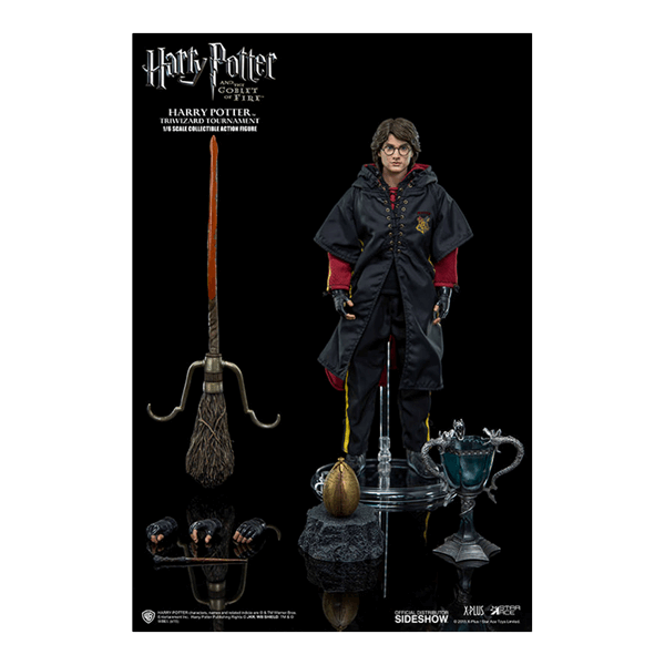 Harry Potter - Harry Potter (Triwizard Tournament Version) 1/6 Scale Collectable Action Figure - Packshot 2