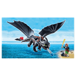 How to Train Your Dragon - Hiccup and Toothless PlayMobil Construction Set - Packshot 2