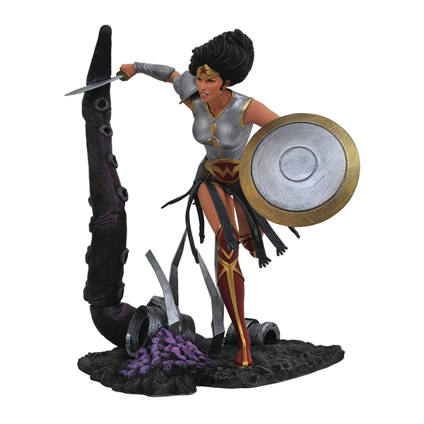 DC Comics - Dark Nights Metal - Wonder Woman PVC Diorama Figure - Packshot 1