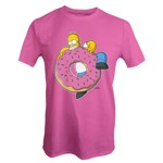 The Simpsons - Homer With Donut T-Shirt - Packshot 1