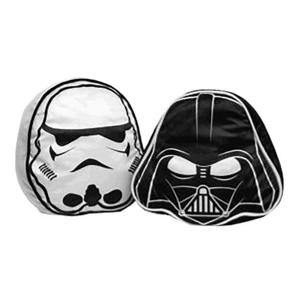 Star Wars - Darth Vader & Stormtrooper Throw Pillow Set - Packshot 1