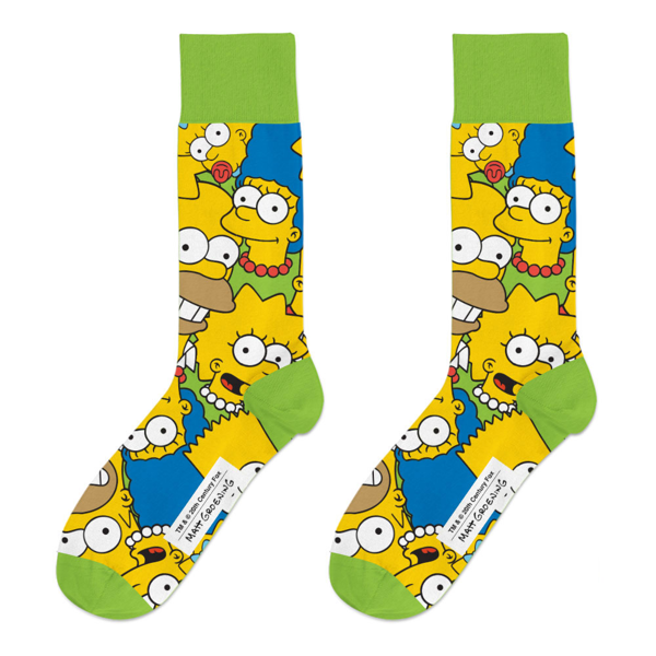 The Simpsons - All-Over Print Socks - Packshot 1