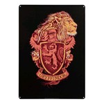 Harry Potter - Gryffindor A3 Tin Sign - Packshot 1