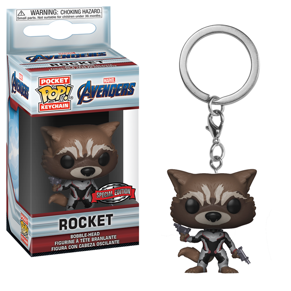Marvel - Avengers: Endgame - Rocket Pocket Pop! Keychain - Packshot 1