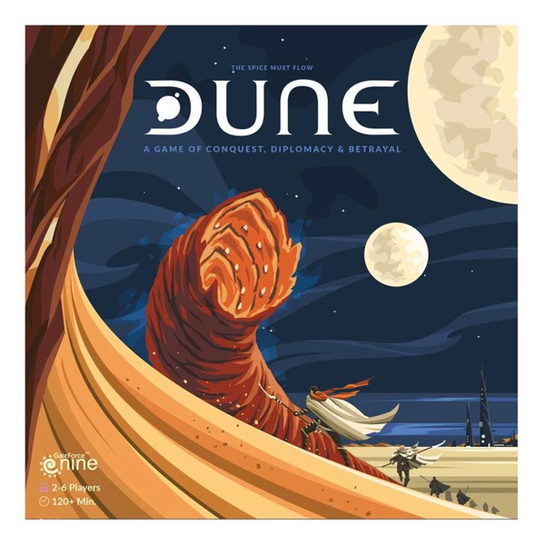 Dune (2019 Edition) Board Game - Packshot 1